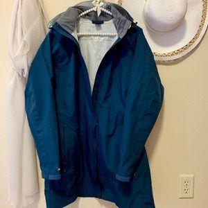 REI Light Jacket with detachable hood. Size L